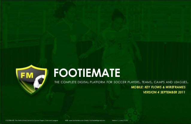 footiemate                                                                       the complete digital platform for soccer ...