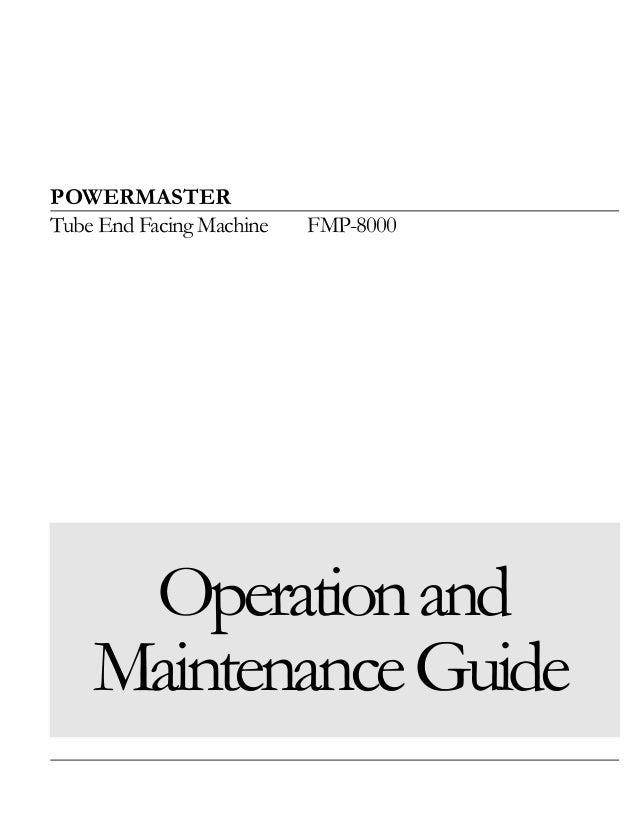 Fmp 8000 manual