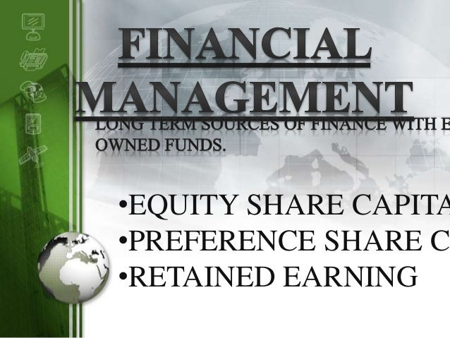 LOGO •EQUITY SHARE CAPITA •PREFERENCE SHARE CA •RETAINED EARNING