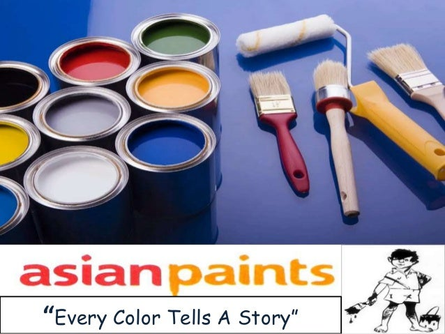 """""""Every Color Tells A Story"""""""