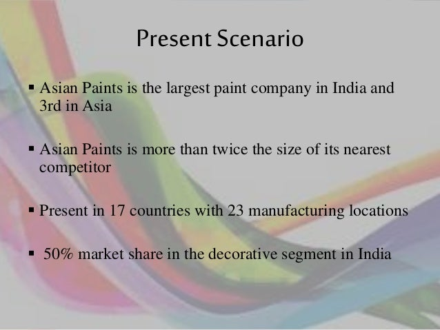 Asian paints financial