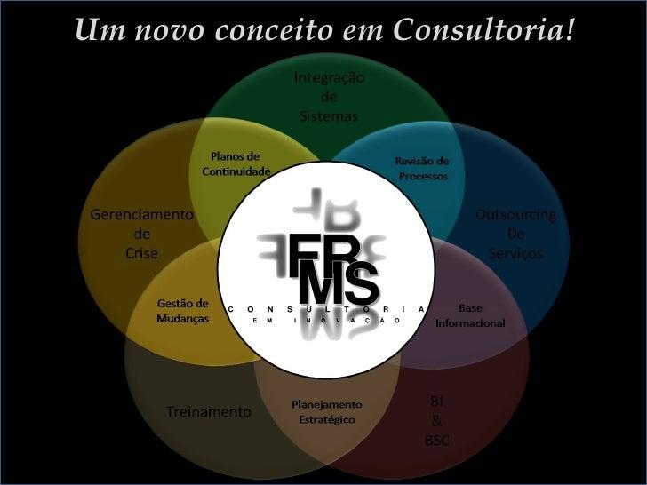 Um novo conceito em Consultoria!