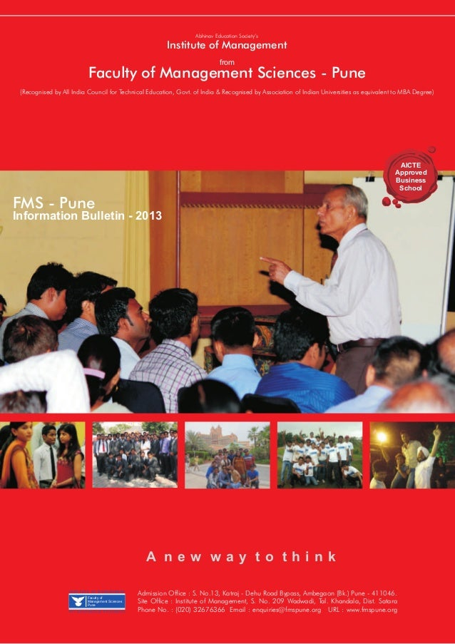Abhinav Education Society's                                                          Institute of Management              ...