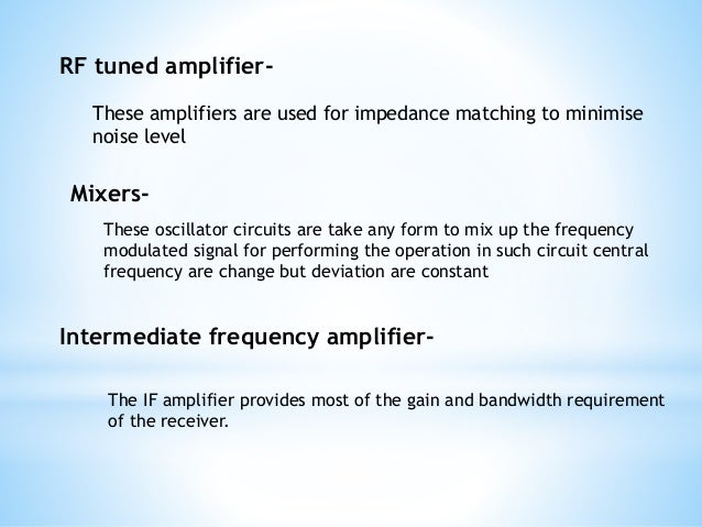 Fm transmitter and receivers