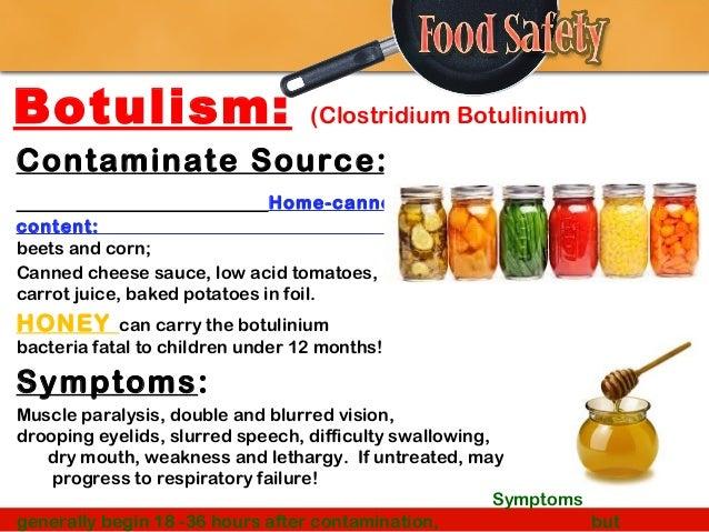 Botulism Canned Food Refrigerator