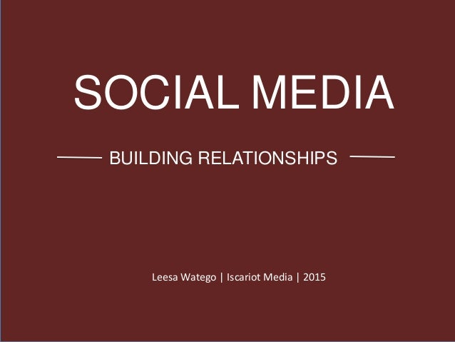 How dating sites use social media