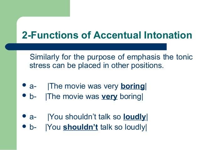 functions of intonation pdf