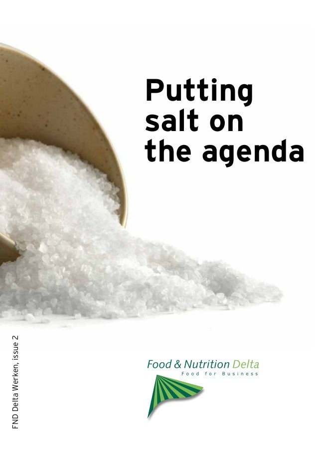 FND Delta Werken, issue 2                            salt on                            Putting                           ...