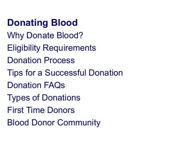 blood donation ppt in pdf
