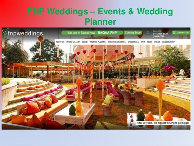 FNP Weddings – Events & Wedding  Planner
