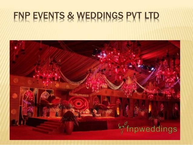 FNP EVENTS & WEDDINGS PVT LTD