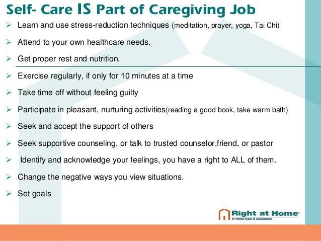 Caregiver Stress (One Minute Caregiver)