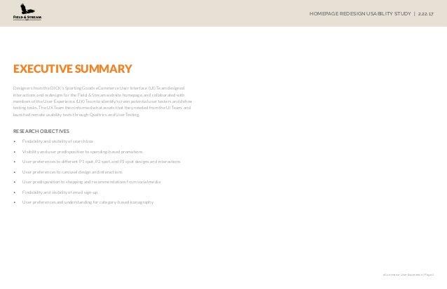 Homepage Redesign Study Slide 2