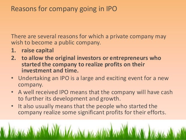 Role of merchant banker in ipo