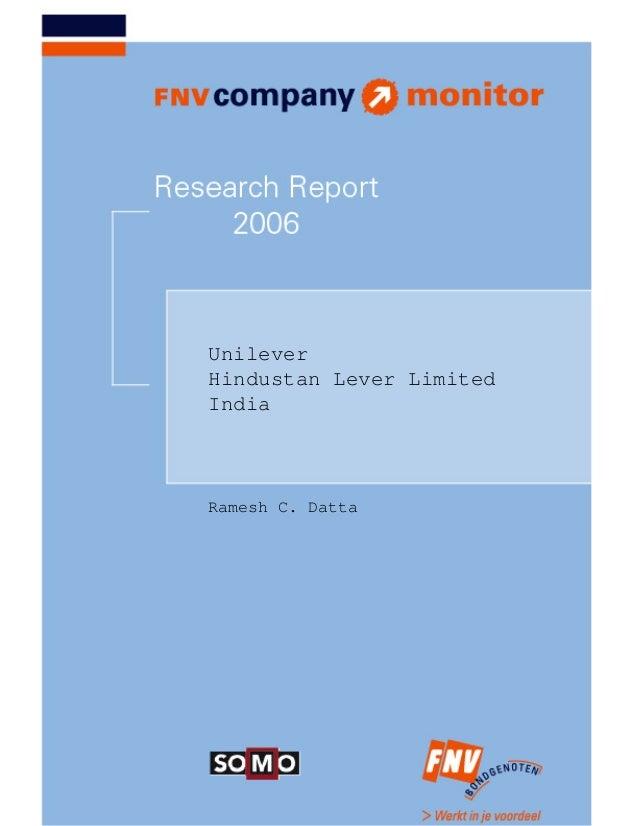 UnileverHindustan Lever LimitedIndiaRamesh C. Datta