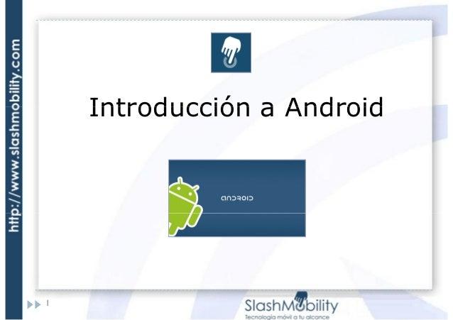 Introducción a Android  1