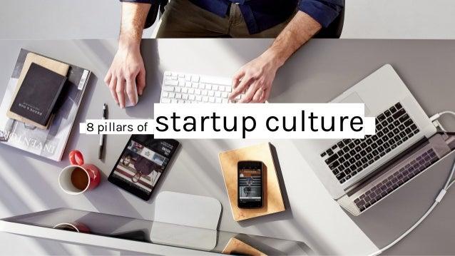 _8 pillars of startup culture_