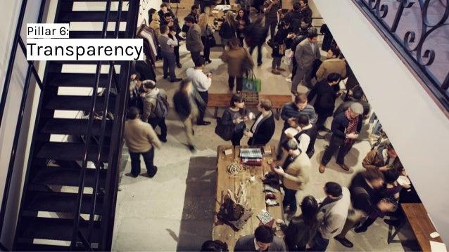 Pillar 6: Transparency
