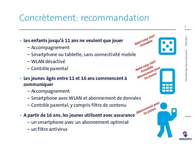 Concrètement: recommandation                                                             8                                ...