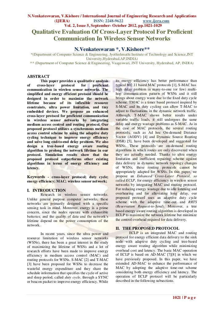 N.Venkateswaran, V.Kishore / International Journal of Engineering Research and Applications             (IJERA)           ...