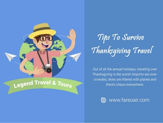 Tips To Survive Thanksgiving Travel