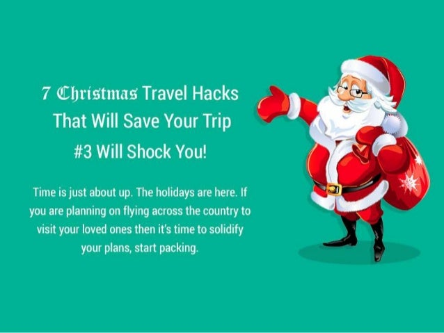 7 Christmas Travel Hacks That Will Save Your Trip