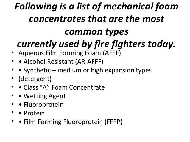 synthetic Foam