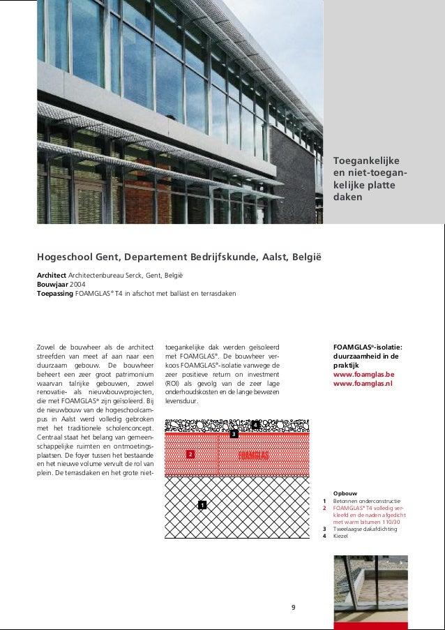 Foamglas isolatiesystemen voor daken - Daken en volumes ...