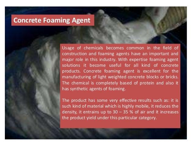 Cellular Concrete Foaming Agent : Foaming agent clc blocks bricks and cellular lightweight