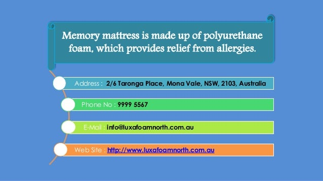 Foam Mattresses Advantages Of Using Them
