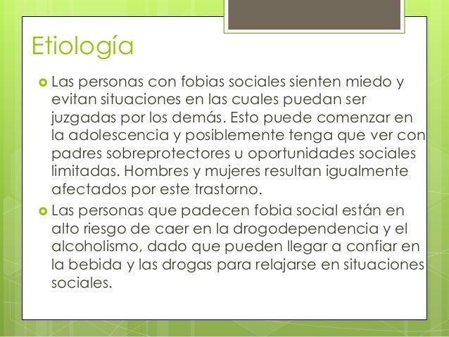 Fobia social Slide 3
