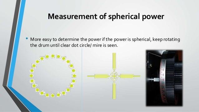 Lensometry  Focimeter