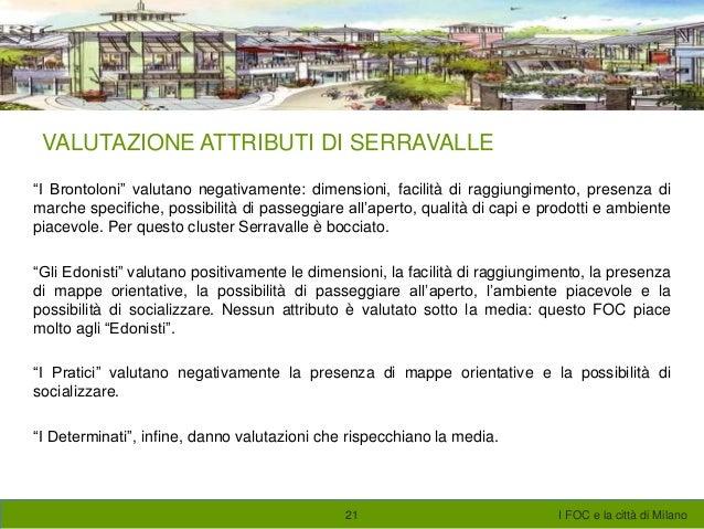I FACTORY OUTLET CENTER E LA CITTA\' DI MILANO