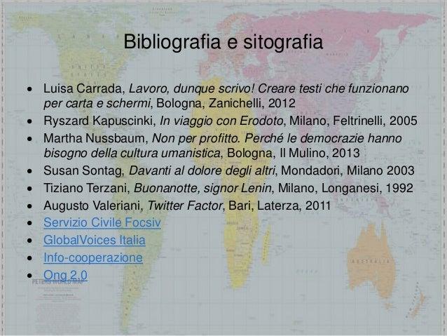 Servizio civile in Italia e all'estero comunicare le propria esperienza