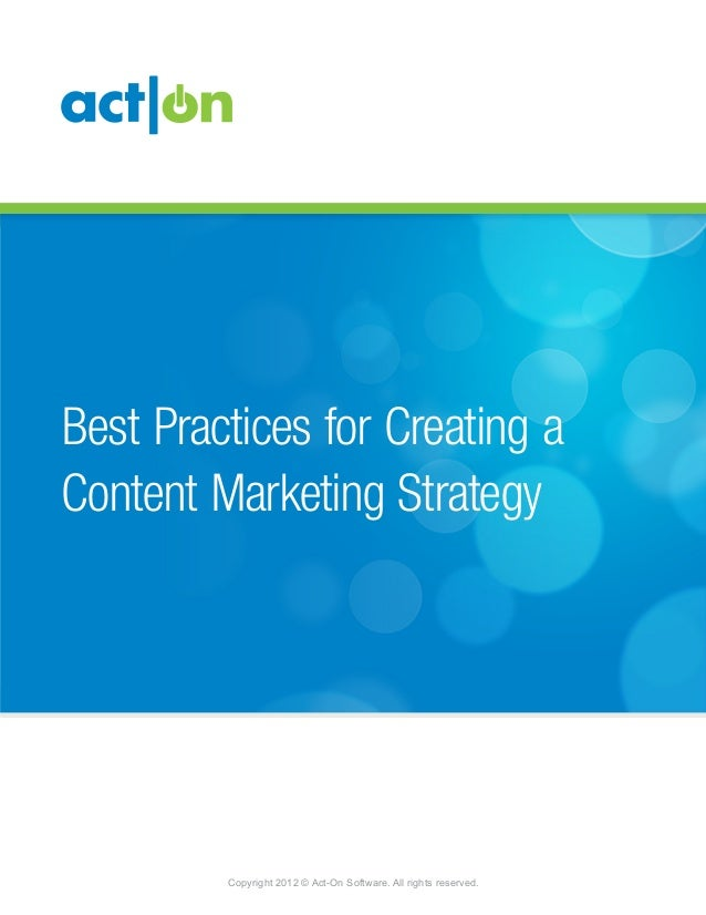 Act-On Best Practices for Email Delivery                                                                   &Best Practices...