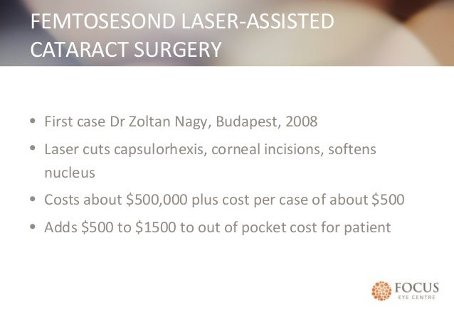 Cataract Surgery Pros And Cons Focus Eye Centre Sydney