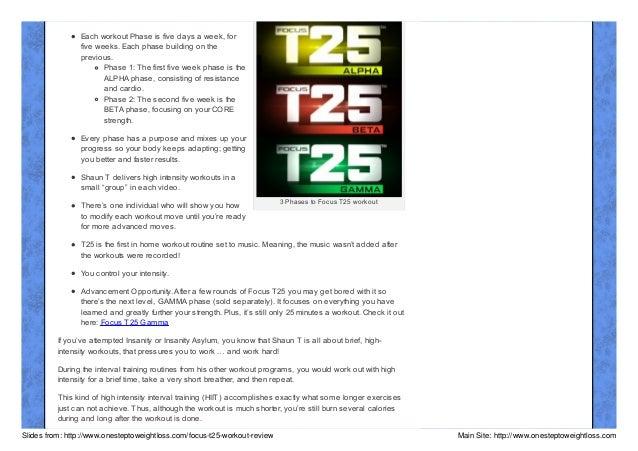Beachbody Focus T25 Workout Review