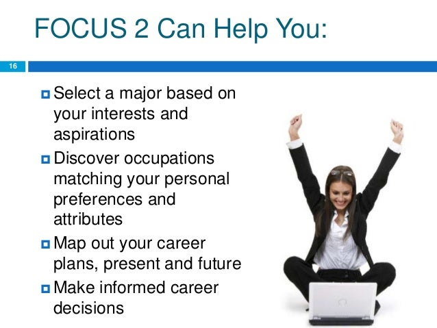 education career and focus Home our work  focus areas  college and career readiness  necessitate  that k-12 systems prepare more students for success in college and career.
