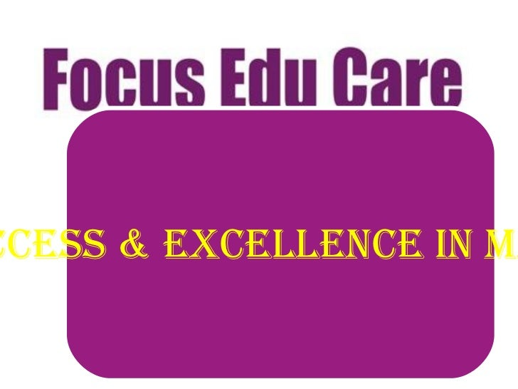 The Center of Success & Excellence in management studies