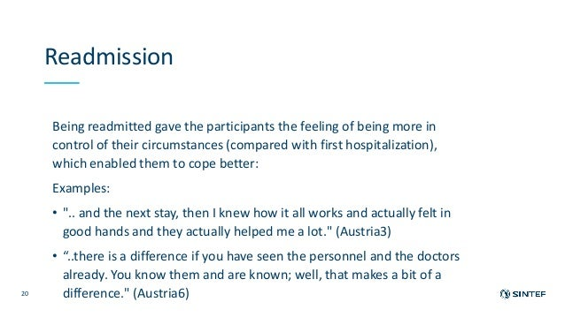Mental health service users' experiences of admission and