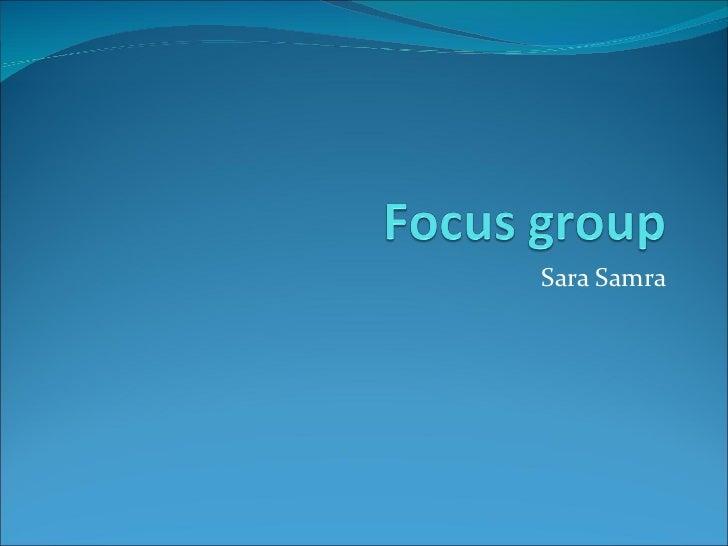 Sara Samra