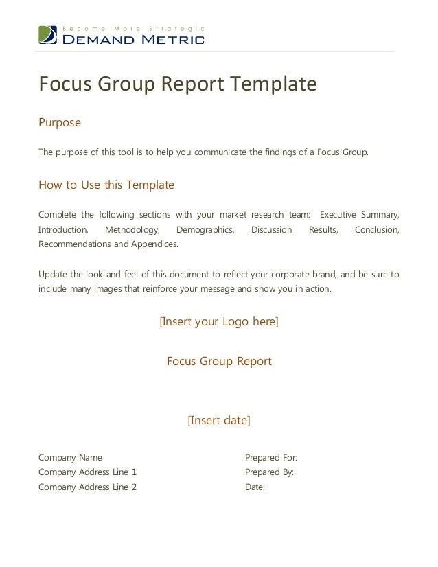 Focus group format dolapgnetband focus group format stopboris Gallery