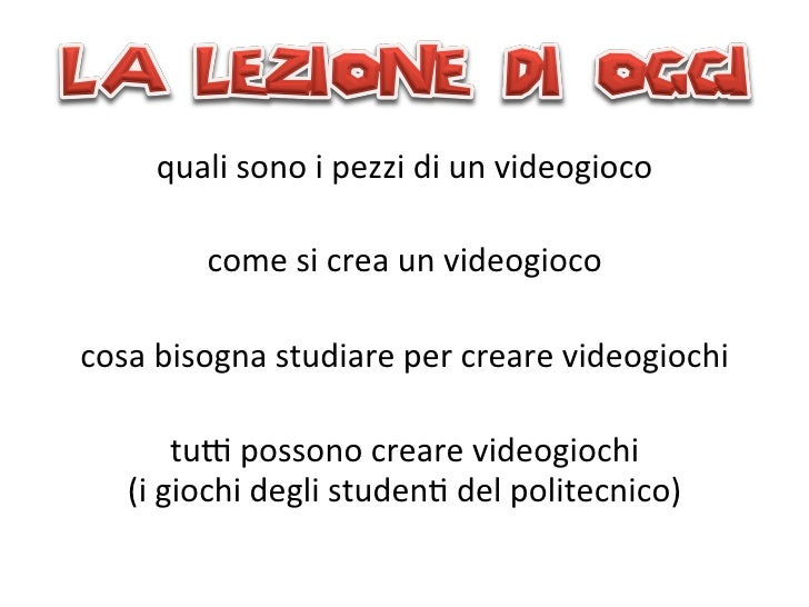 Presentazione Focus Junior - Politecnico di Milano Slide 3