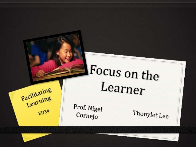 Theories Related to the Learner's Development