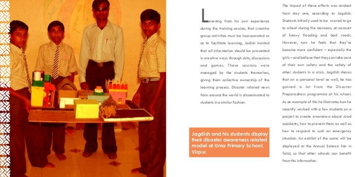 The impact of these efforts was evident   L    earning from his own experience   during the training session, that creativ...