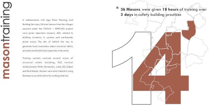 masontraining                                                            * 36 Masons were given 18 hours of training over ...