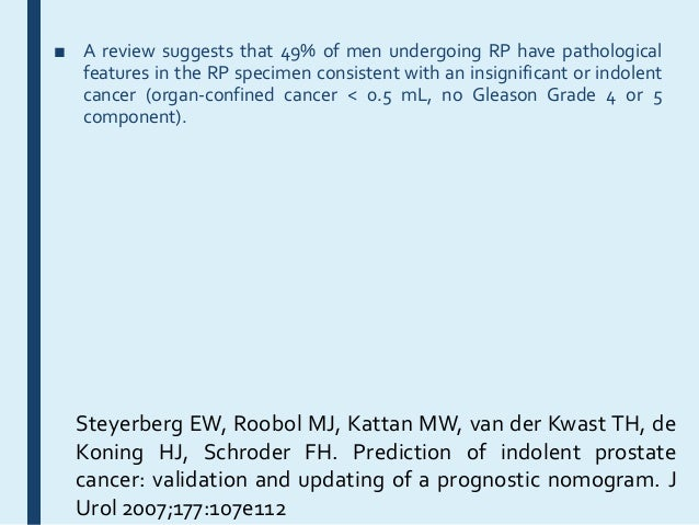 Focussed therapy and imaging in prostate cancer Slide 3