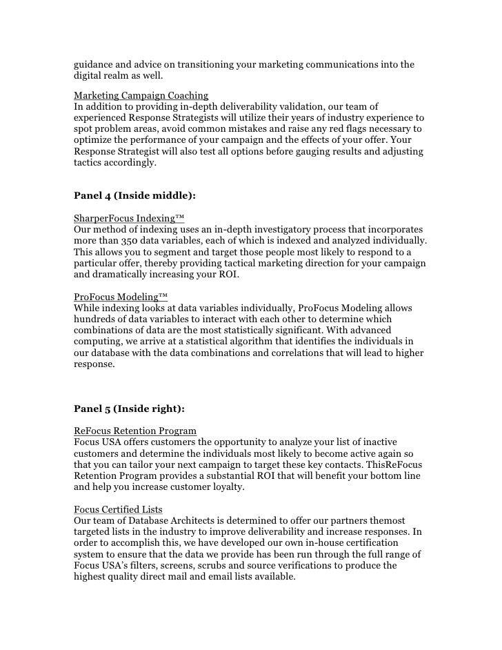 Focus usa   brochure Slide 2