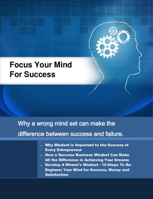Get Your Mind-Set For Success