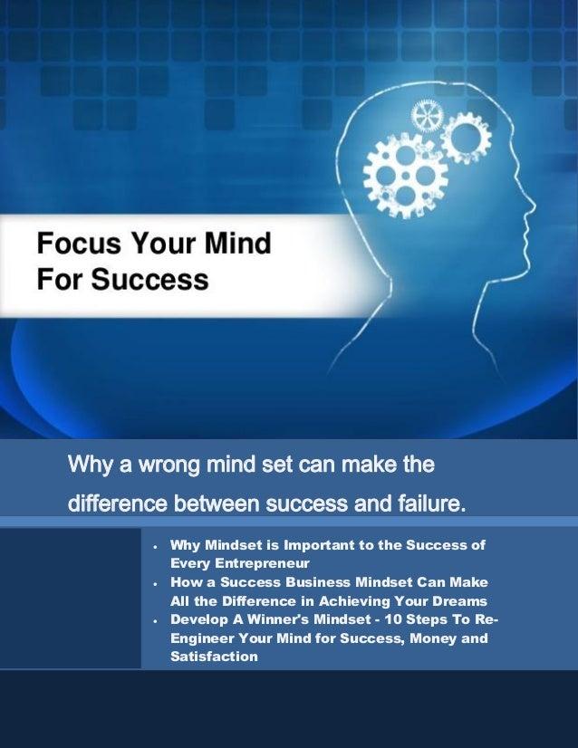 Get Your Mind-Set For Success